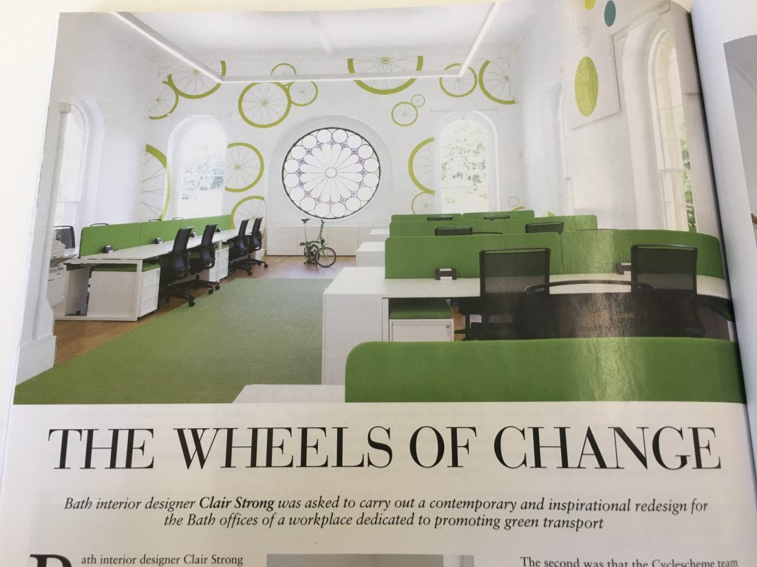 Bath Magazine Feature Esmond Murray Architects Cycle Scheme