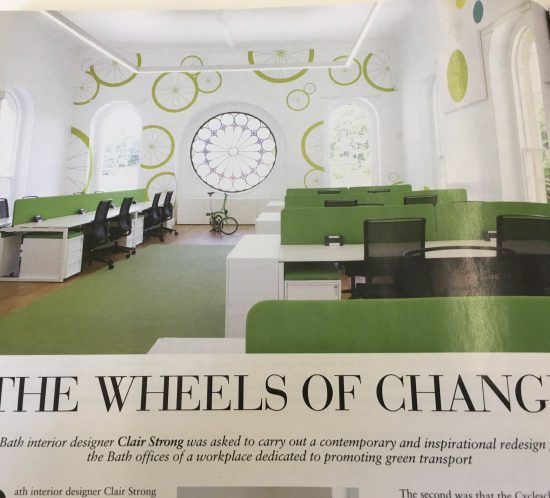 Bath Magazine Feature Esmond Murray Architects Cycle Scheme