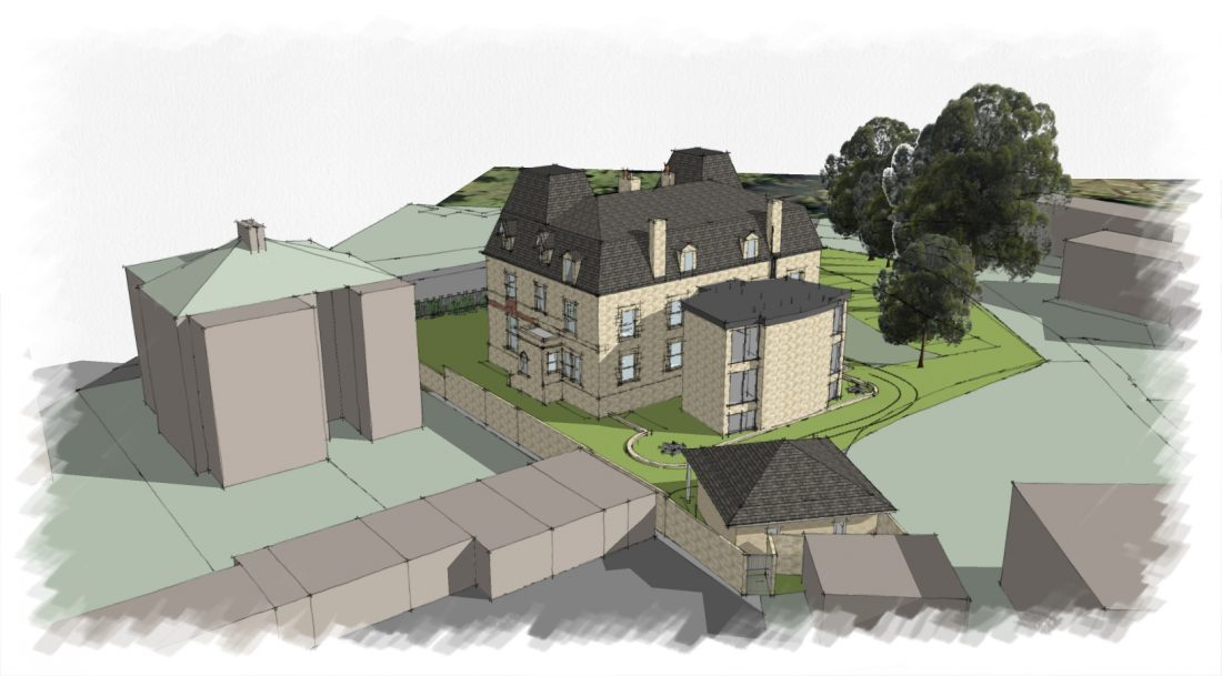 Raby Mews Bath new house architecture project